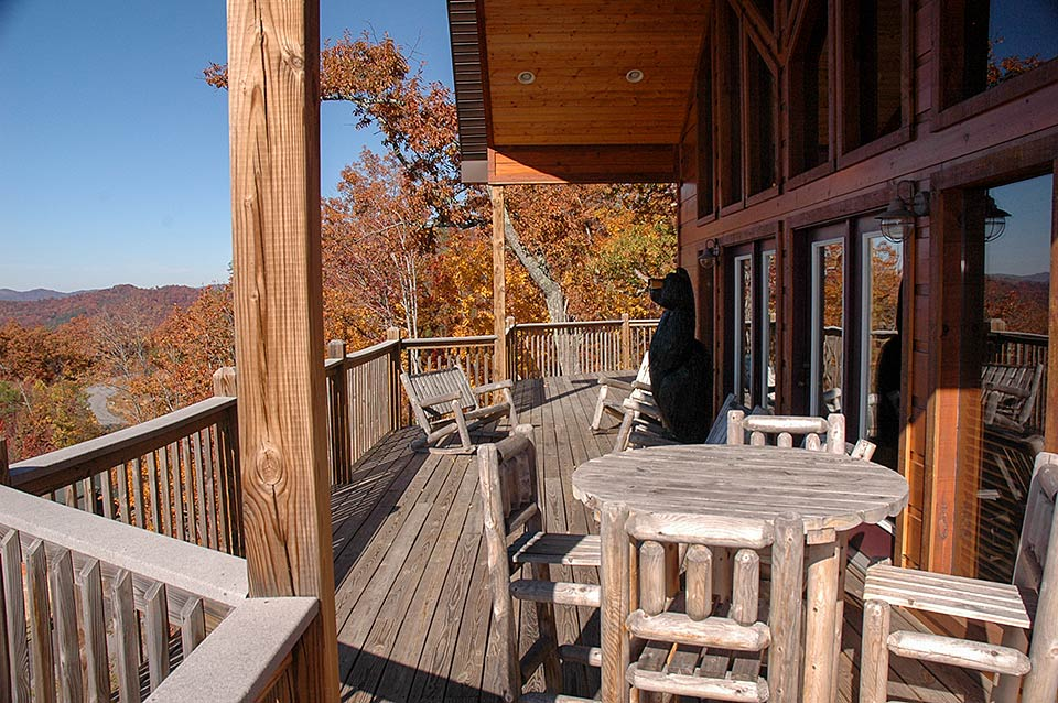 Wonderful cabin with a great view in Wears Valley