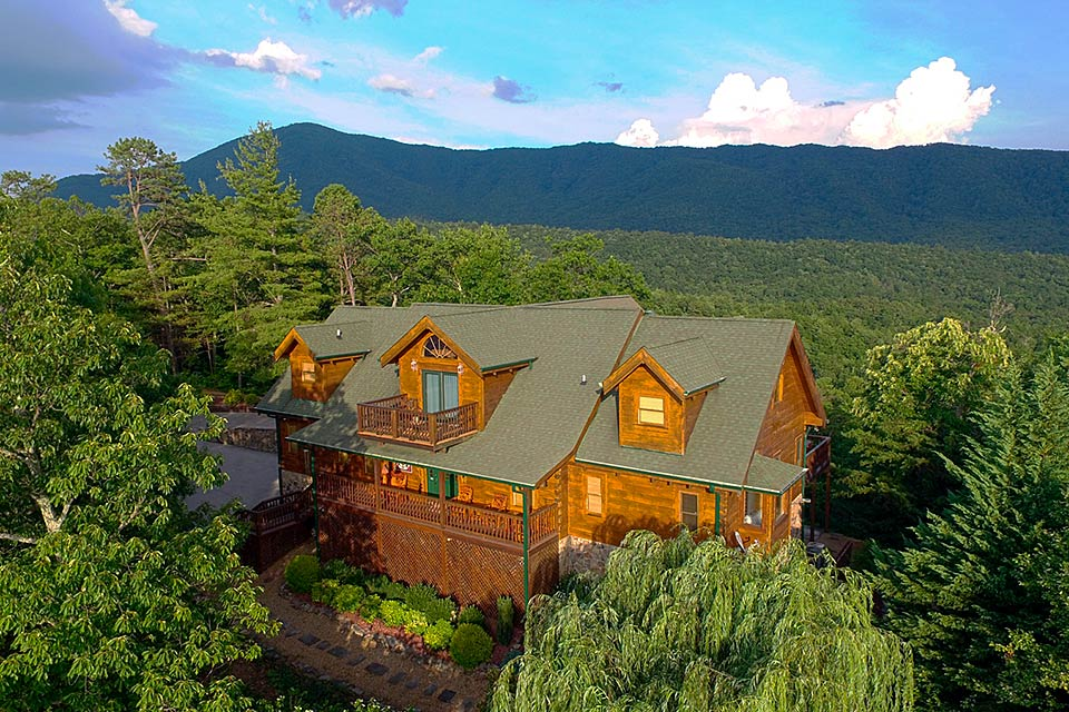 Private lodge is perfect for a family vacation