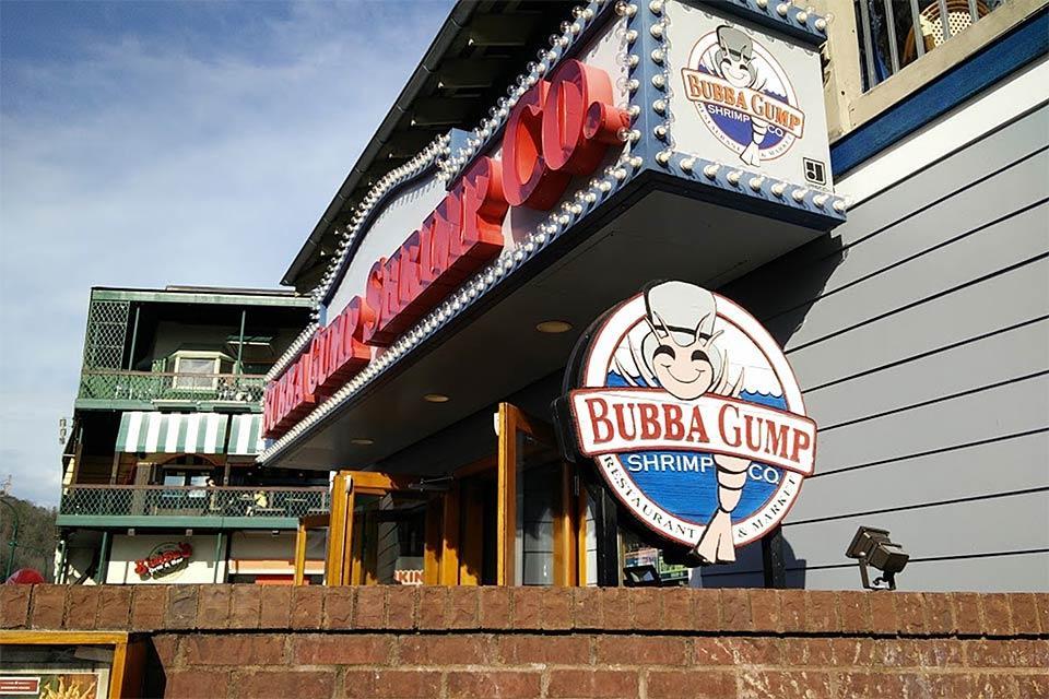 Bubba Gumps in Gatlinburg