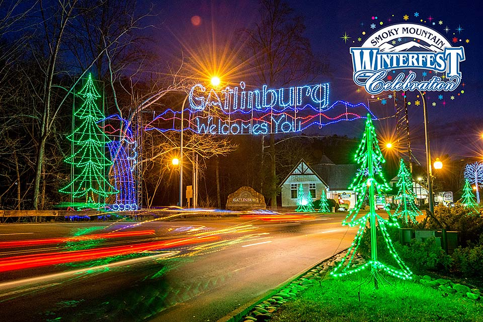 Enjoy millions of lights in Gatlinburg this Winterfest.