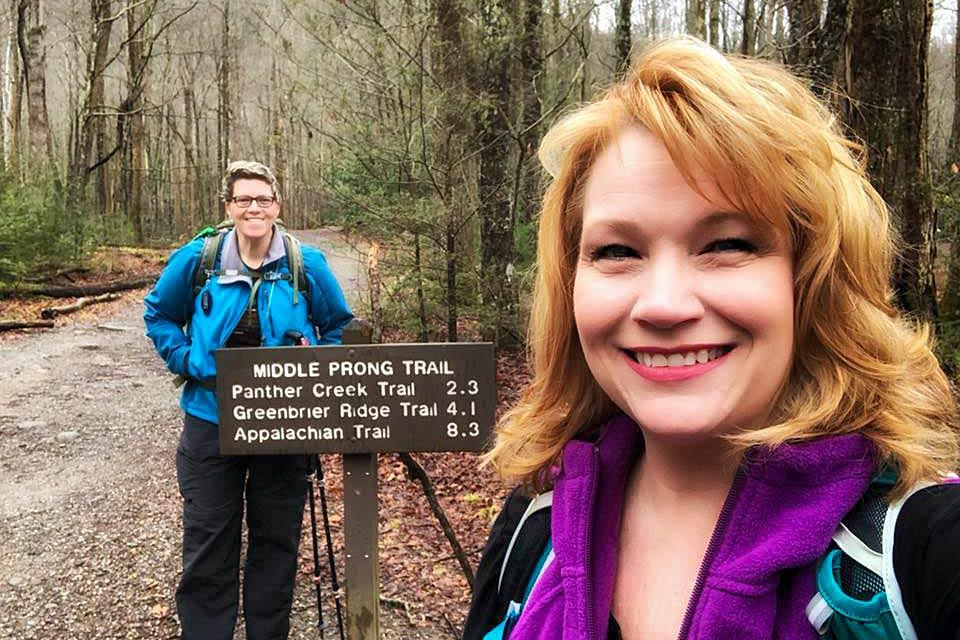 Hike the middle prong trail